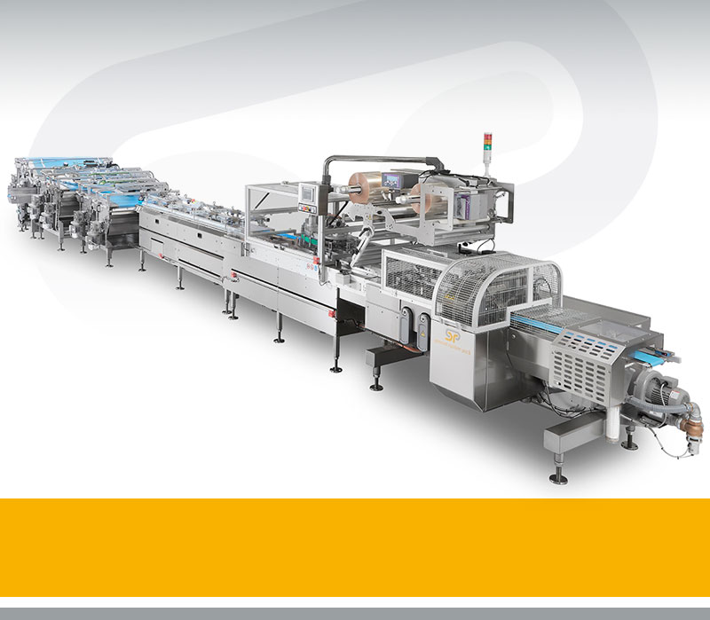 Automatic biscuit packaging lineSistemas de Envasado